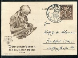 """Deutsches Reich / 1938 / Sonderpostkarte """"Reichsparteitag"""" Mi. P 274/03 """"Winterhilfswerk"""" SSt. Berlin (1841) - Germany"""