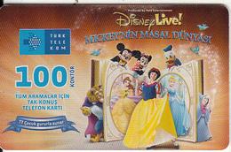 TURKEY(chip) - Disney Live, TT Cocuk, Exp.date 07/12, Used - Turquie