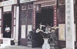 PENANG -BUDDHIST 'SNAKE ' TEMPLE - Malaysia