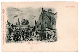CPA 92 - Vieux SCEAUX (Hauts De Seine) - Place De L'Eglise - Ed. Trianon N° 1051 - Sceaux