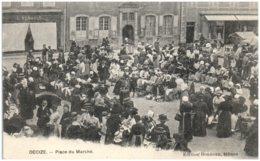 58 DECIZE - Place Du Marché - Decize