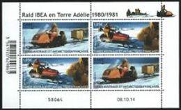 TAAF   Raid Ibea   Cat Yt N° 737, 738    N**  MNH - Blocks & Sheetlets