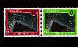 GIBRALTAR - 1982  CHRISTMAS  SET MINT NH - Gibilterra