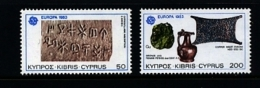 CYPRUS - 1983  EUROPA  SET  MINT NH - Nuovi