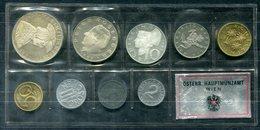 5389 - ÖSTERREICH - Kursmünzensatz KMS 1969 In PP Mit Silbermünzen - Oesterreich