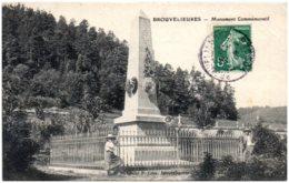 88 RAON-l'ETAPE - BROUVELIEURES - Monument Commémoratif - Francia