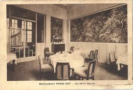 CPA Paris Restaurant Paris-Est Un Petit Salon - Arrondissement: 12