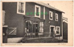 23 PONTCHARRAUD - Café Tartiere - Francia
