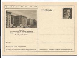 DR P 305 42 -04-B19 ** - 6 Pf Hitller  Bild Kattowitz Handelskammer - Ganzsachen