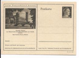 DR P 305 42 -06-B07 ** - 6 Pf Hitller  Bild München - Deutsches Museum - Ganzsachen
