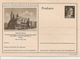DR P 305 42 -09-B19 ** - 6 Pf Hitller  Bild Brieg - Ganzsachen