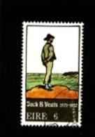 IRELAND/EIRE - 1971  JACK  B.  YEATS  FINE USED - Usati