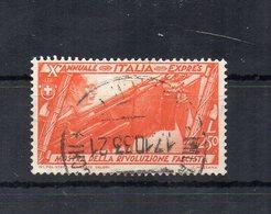 Italia - Regno - 1932 - Decennale Della Marcia Su Roma - Espresso Da 2,50 Lire - Usato - (FDC18597) - 1900-44 Victor Emmanuel III.