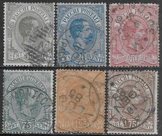 Italia Italy 1884 Regno Pacchi Postali Sa N.PP1-PP6 Completa US - 1878-00 Humbert I.