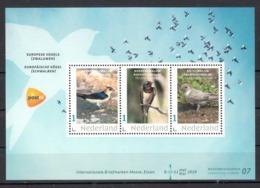 Nederland Briefmarken-Messe Essen 2019 Beurszegel Nr 7 Thema: Europese Vogels: 3 X Zwaluwen, Swallow - Neufs