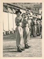 Snapshot Guerre D'Algérie Soldats Militaires Français Trompettes Musique Cor - War, Military