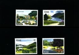 IRELAND/EIRE - 1989  NATIONAL PARKS AND GARDENS  SET  MINT NH - 1949-... Repubblica D'Irlanda
