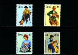 IRELAND/EIRE - 1983 IRISH  HANDICRAFTS  SET  MINT NH - 1949-... Repubblica D'Irlanda