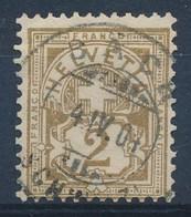 "HELVETIA - Mi Nr 50 - Cachet ""BACH"" - (ref. 1619) - Gebraucht"