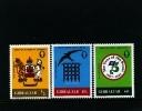 GIBRALTAR - 1982  ANNIVERSARIES  SET  MINT NH - Gibilterra
