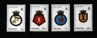 GIBRALTAR - 1982  ROYAL NAVY  SET   MINT NH - Gibilterra