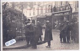 DIJON- INVENTAIRE DES EGLISES- AU COIN DU SQUARE DES DUCS- DROGUERIE BOTTARD- PHONOGRAPHES PATHE- 3 FEVRIER 1906 - Dijon