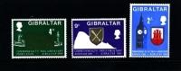 GIBRALTAR - 1969  COMMONWEALTH PARLIAMENTARY ASSOCIATION   SET  MINT NH - Gibilterra
