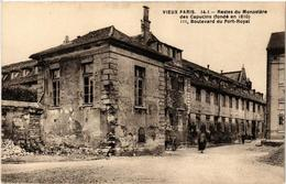 CPA PARIS (14e) 111 Boulevard Du Port-Royal. Monastere Des Capucins (535893) - District 14