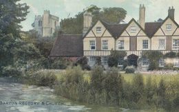 Barton Rectory Norfolk Antique Postcard - Engeland