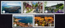 Turkey - 2019 - Cittaslow Cities In Turkey - Mint Definitive Stamp Set - 1921-... Republik