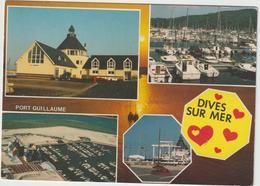Calvados :  DIVES  Sur  Mer  : Vue   Port Guillaume  1999 - Dives