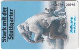 GERMANY S-Serie B-253 - Animal, Elephant, Advertising, Insurance (4307) - Used - Deutschland