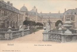 Beloeil.  Cour D'Honneur Du Château. Nels Couleurs  N° 2 ( Scan - Beloeil