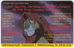 GERMANY S-Serie B-292 - Walt Disney, The Lion King (2409) - Used - Deutschland