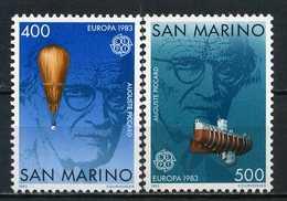 Saint-Marin YT 1074-1075 XX / MNH Europa 1983 - Saint-Marin