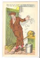 CPH 133 ,  OLD POSTCARD , HUMOR FANTASY , Signed HDB 53 - Humour