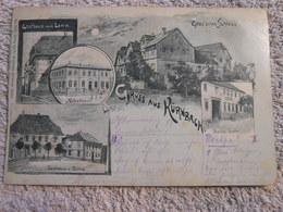 Ak Gruss Aus Kurnbach 1899 Stempel Zug - Andere