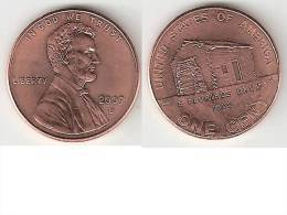 Usa 1 Cent 2009  D Log Cabin Unc - 1959-…: Lincoln, Memorial Reverse