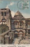 *** ISRAEL - PALESTINE Jérusalem Façade Du St Sépulcre Timbrée - Palestine