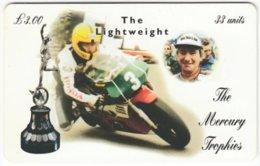ISLE OF MAN A-052 Chip Telecom - Sport, Motorbike Race - Used - Royaume-Uni
