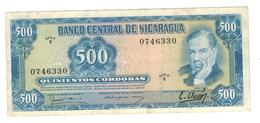 Nicaragua 500 Cord. 1979. P-133, VF/XF. - Nicaragua