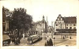 Krefeld - Zollamt Und Bahnhofsplatz (animation, Tram Tramway, Stengel 1926) - Krefeld