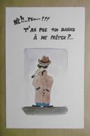 """Humour Mendiant  Animaux RAT Souris Mouse """"Pst T'as Pas 100 Balles à Me Prêter ? ..."""" - Humor"""