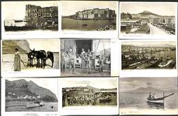 Napoli - Lot Of 44 Postcards (animation, Tram Tramway,... See All Scans, Gentle Price) - Napoli (Napels)