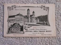 Ak Einsiedeln Hotel Trois Rois - SZ Schwyz