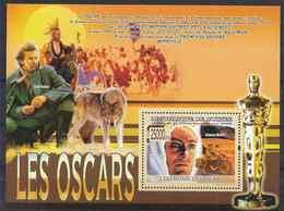 2008 GUINEE BF 927** Cinéma, Oscar, Lawrence D'Arabie, Moto, Loup - República De Guinea (1958-...)