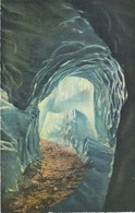 Postcard Belvedere Furkastrasse Eisgrotte Rhonegletscher Grotte Du Glacier Cachet My Ref  B13783 - BE Berne