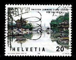 Suisse 1998 Mi.Nr: 1667 Schweizerich-Chinesische Freundschaft  Oblitèré / Used / Gebruikt - Gebruikt