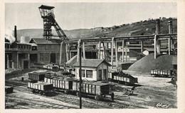 42 St Saint Etienne Le Puits Chatelus Wagon Wagons Mine - Saint Etienne