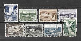 1956 - N. 261/68 USATI (CATALOGO UNIFICATO) - Usati